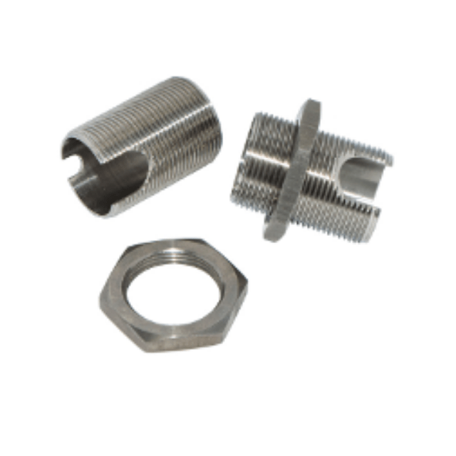 Application Industry: Capacitive Sensors Production Process: CNC Turning Material : SUS304 Surface treatment : Electrolytic Polishing Capacitive sensors, Detection Sensors, CNC Turning, SUS304, Electrolytic polishing