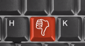 ...Why is it where the 'J' key usually is?