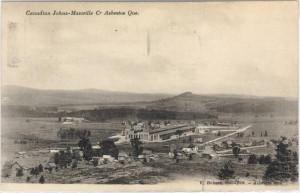 Asbestos : V. Dubois, phot.-édit., [1918 et 1928], bibliothèque et archives nationales du québec