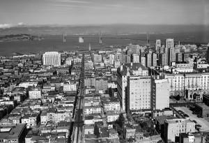 View of San Francisco, 1945