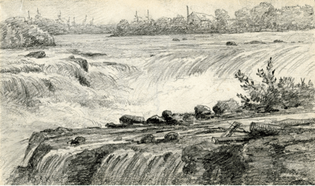 Chaudière-Falls-before-dammed