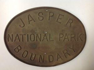 JNP boundary sign. Source: Second Century Club collection.
