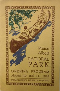 Prince Albert National Park  opening, 1928. Source: Second Century Club collection