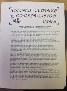 Project to establish a permanent collection. Source: Second Century Club collection