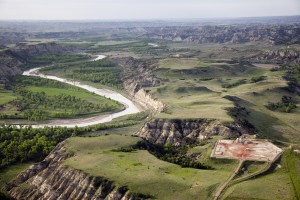 """""""Oil pad near Little Missouri River"""" by NPCA Photos is licensed under CC BY-ND 2.0."""
