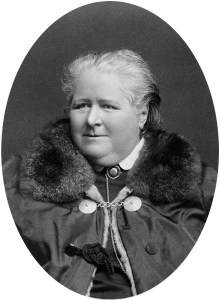 Frances Power Cobbe, a Victorian feminist and advocate for animals.