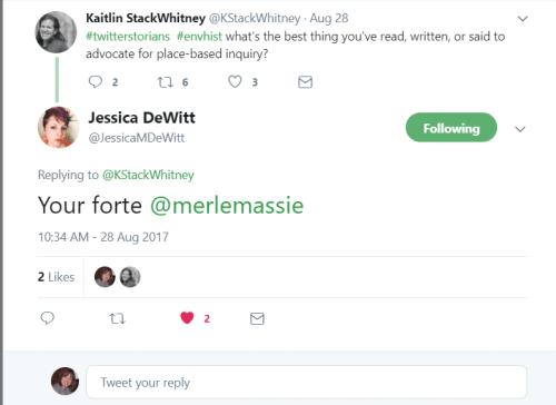Place-based Tweet