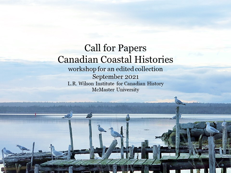Call for Papers Canadian Coastal Histories Header