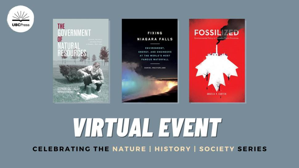 Virtual Event: New Books in the Nature History Society series.