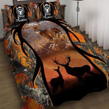 Deer Hunting Bedding Cover Set 3D Design  All Over Printed(6228)