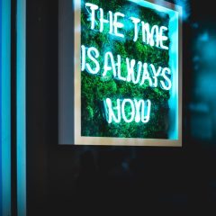 The Time Is Always Now