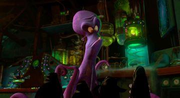 Interior Brine's Lab - Final Film Shot showing Medusa Serum Holder