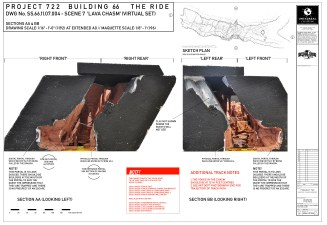 'escape from grinotts' Lava Chasm Sections