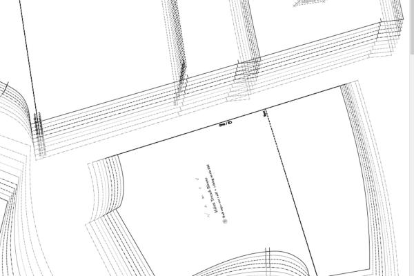 large format sewing pattern