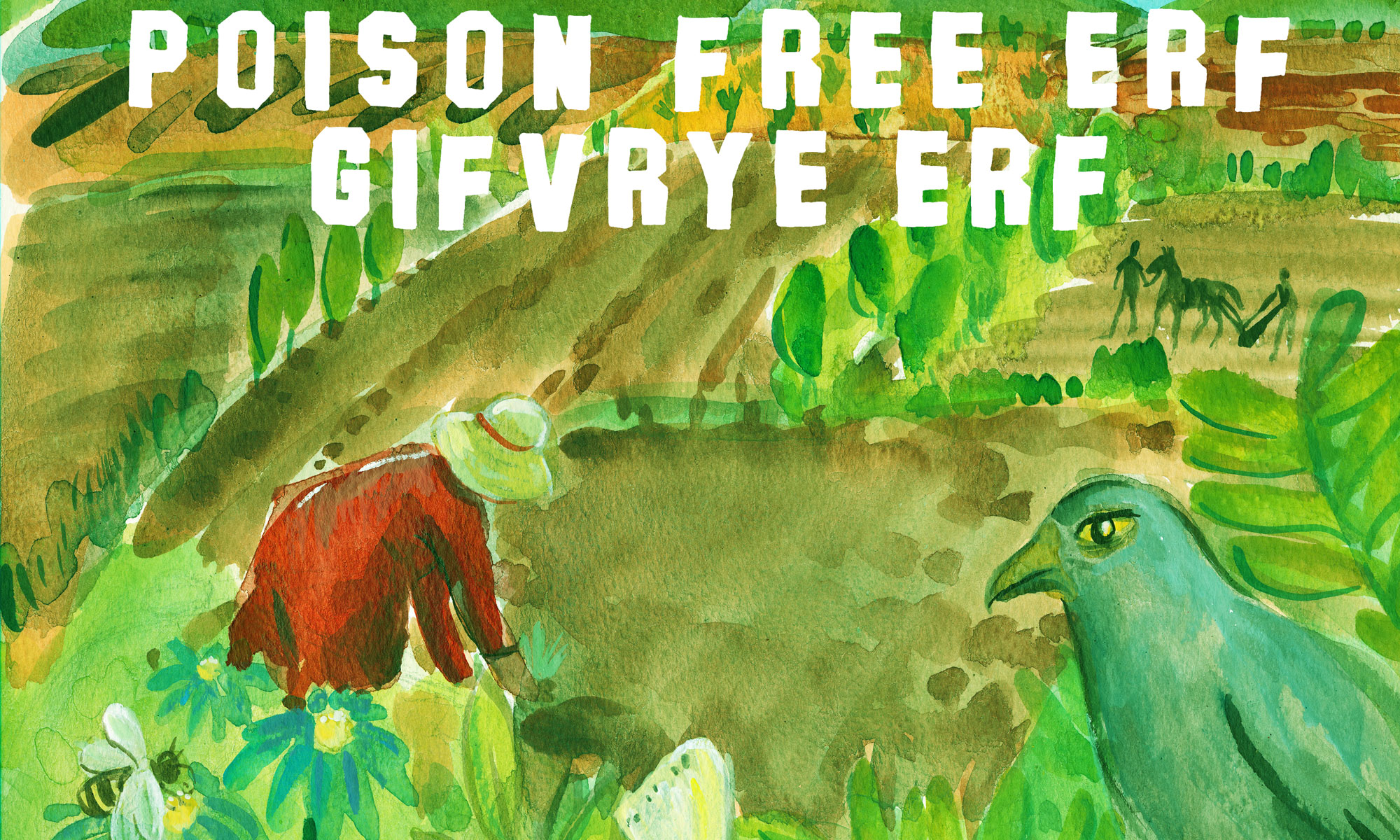 Poison free erf sign