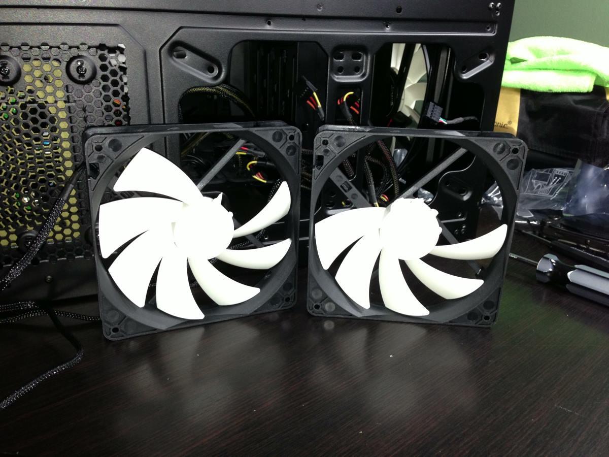 broken NZXT radiator fans