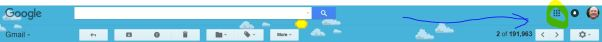 header use in Google Gmail.