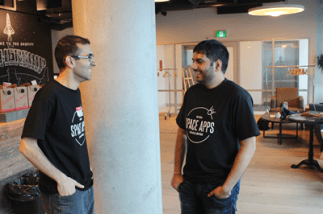 Mentors Hooman and Sandeep