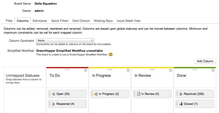 GreenHopper - Flexible Workflows for Agile Teams