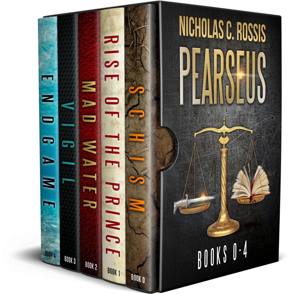 Pearseus Bundle | From the reader blog of Nicholas C. Rossis, author of children's books, fantasy and science fiction