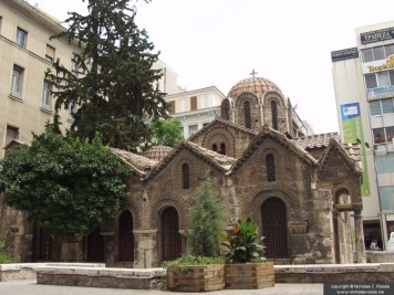Chapel of Kapnikarea, Athens, Greece
