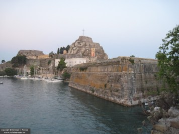 """Old"" Castle, Island of Corfu, Greece"