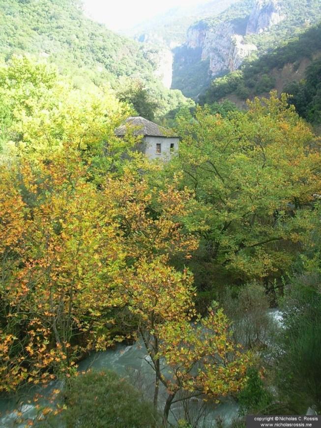 Lousios river, Arcadia, Greece
