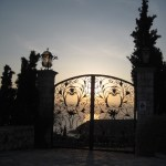 Iron gate at Spetses, Greece