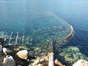Sunken boat, Athens, Greece