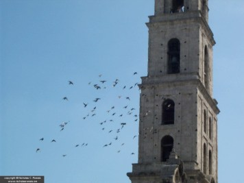 Belfry in Havana, Cuba