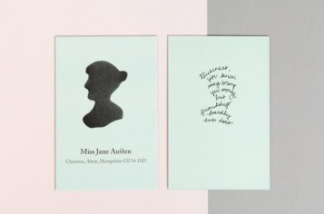 Jane Austen stationery, by uk.moo.com