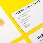 Ian Fleming stationery, by uk.moo.com