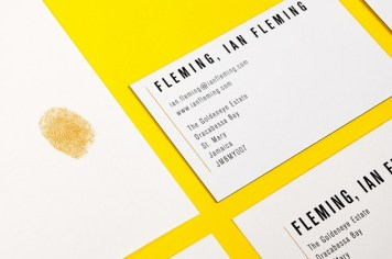 Ian Fleming stationery, by uk.moo.com
