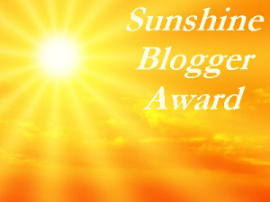 The sunshine award   From the blog of Nicholas C. Rossis, author of science fiction, the Pearseus epic fantasy series and children's books