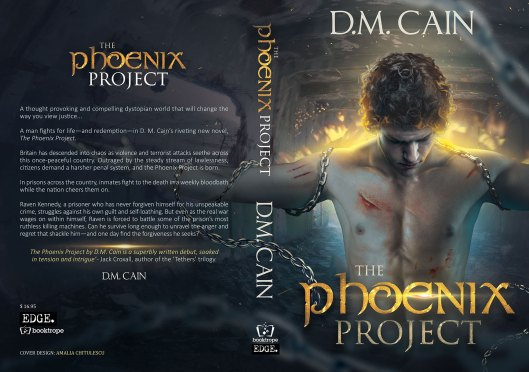 D.M. Cain's, The Phoenix Project | From the blog of Nicholas C. Rossis, author of science fiction, the Pearseus epic fantasy series and children's books