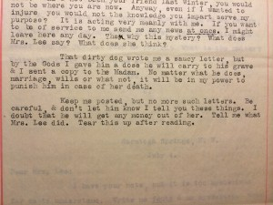 Letter sent by Mrs. Todd | From the blog of Nicholas C. Rossis, author of science fiction, the Pearseus epic fantasy series and children's books