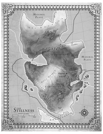 5th Season map | From the blog of Nicholas C. Rossis, author of science fiction, the Pearseus epic fantasy series and children's books