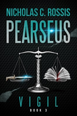 Pearseus: Vigil book cover | From the blog of Nicholas C. Rossis, author of science fiction, the Pearseus epic fantasy series and children's books