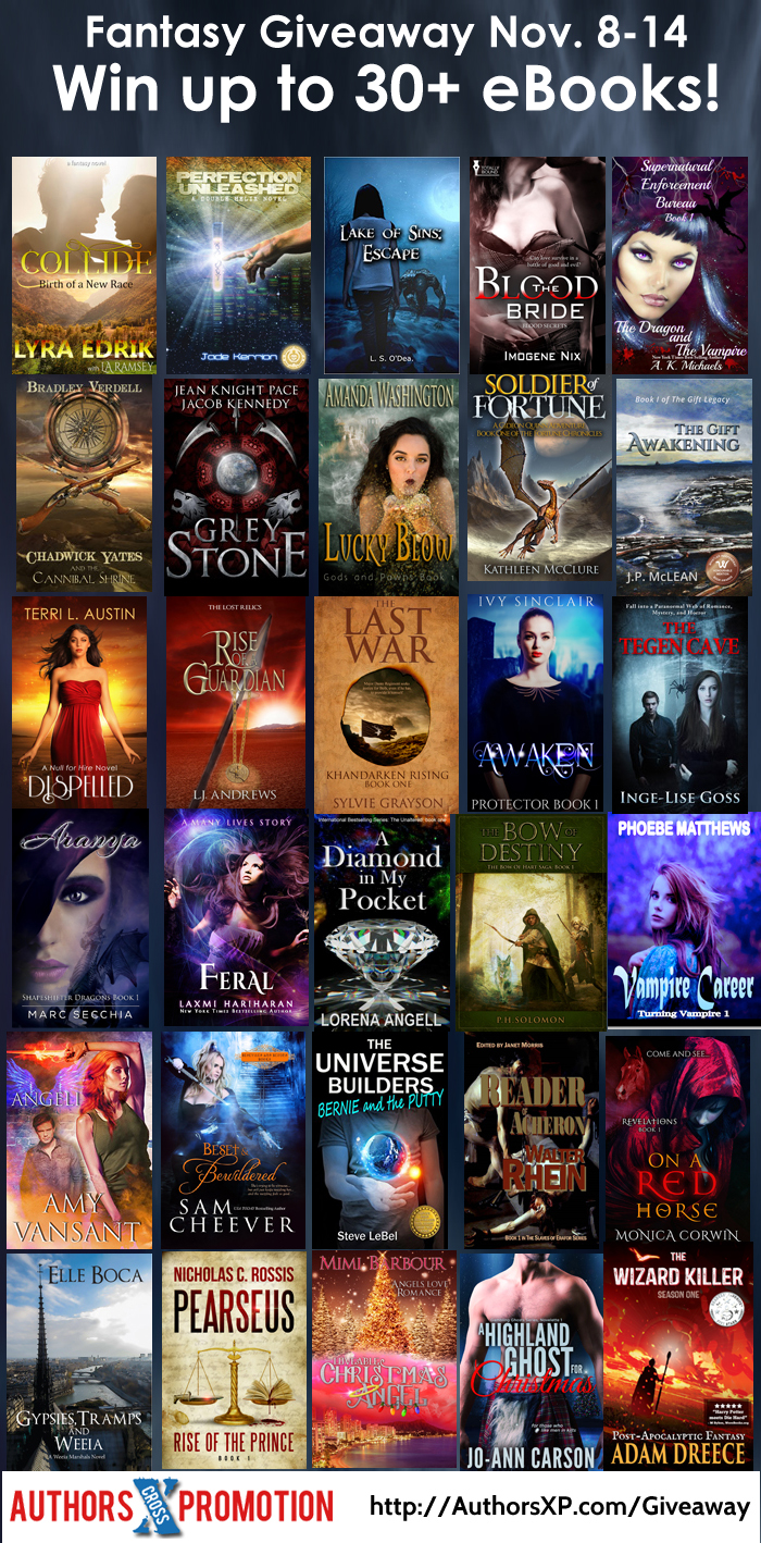 Fantasy Giveaway | From the blog of Nicholas C. Rossis, author of science fiction, the Pearseus epic fantasy series and children's books