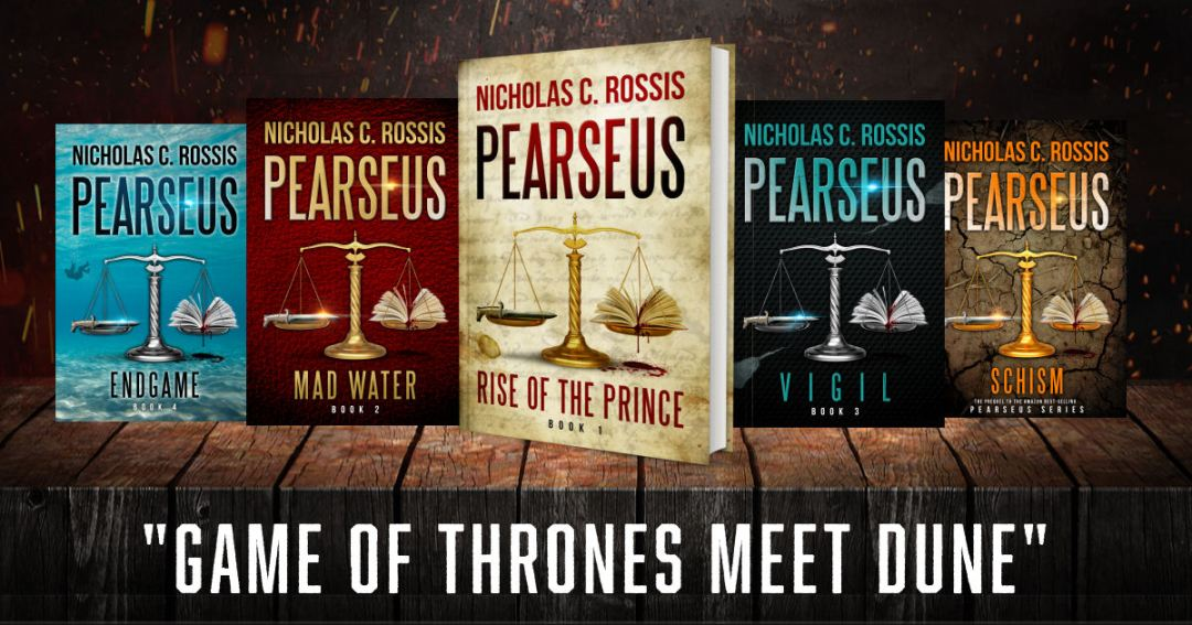 Pearseus bundle | From the blog of Nicholas C. Rossis, author of science fiction, the Pearseus epic fantasy series and children's books