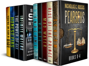 Ultimate bundle Slider Image | From the blog of Nicholas C. Rossis, author of science fiction, the Pearseus epic fantasy series and children's books