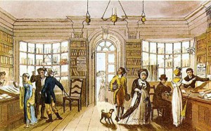 A circulating library | From the blog of Nicholas C. Rossis, author of science fiction, the Pearseus epic fantasy series and children's books