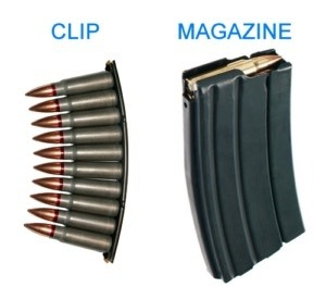 Clip vs magazine | From the blog of Nicholas C. Rossis, author of science fiction, the Pearseus epic fantasy series and children's book