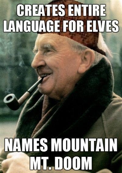 Tolkien meme | From the blog of Nicholas C. Rossis, author of science fiction, the Pearseus epic fantasy series and children's books
