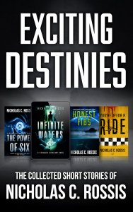 Exciting Destinies SSF | From the blog of Nicholas C. Rossis, author of science fiction, the Pearseus epic fantasy series and children's book