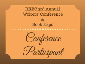 Rave Reviews Book Club (RRBC) 3rd Annual Writers' Conference and Book Expo | From the blog of Nicholas C. Rossis, author of science fiction, the Pearseus epic fantasy series and children's books
