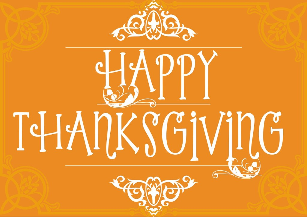 Happy Thanksgiving | From the blog of Nicholas C. Rossis, author of science fiction, the Pearseus epic fantasy series and children's books