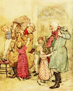 Victorian carolers | From the blog of Nicholas C. Rossis, author of science fiction, the Pearseus epic fantasy series and children's books