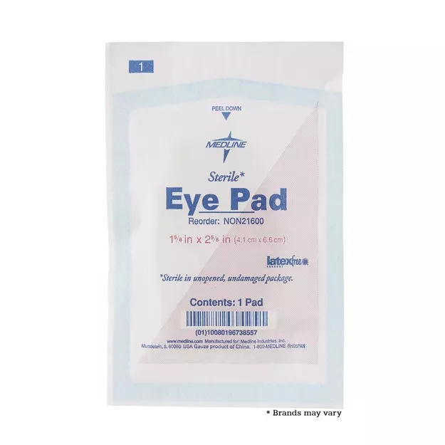 Eye pad | From the blog of Nicholas C. Rossis, author of science fiction, the Pearseus epic fantasy series and children's books