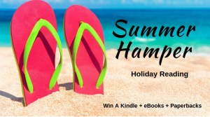 Book luver Summer Hamper giveaway | From the blog of Nicholas C. Rossis, author of science fiction, the Pearseus epic fantasy series and children's book
